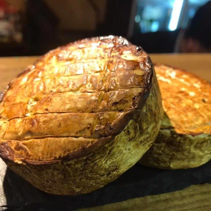 カマンベールチーズの自家製スモーク